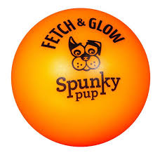 Spunky Pup Fetch & Glow Ball