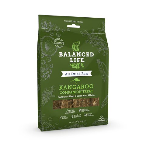 Balanced Life Companion Dog Treat - Kangaroo 140g