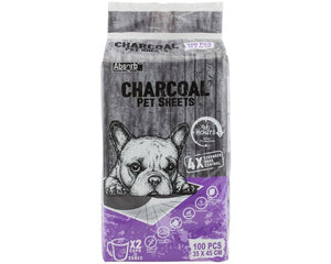 Absorb Plus Charcoal Housebreaking Toilet Training Pads for Dogs