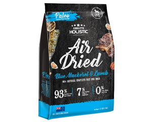 Absolute Holistic Air Dried Dog Food - Blue Mackerel & Lamb