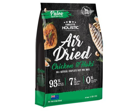 Absolute Holistic Air Dried Dog Food - Chicken & Hoki