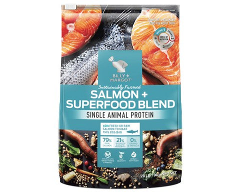 Billy and Margot Dog Dry Food - Salmon Superfood Blend