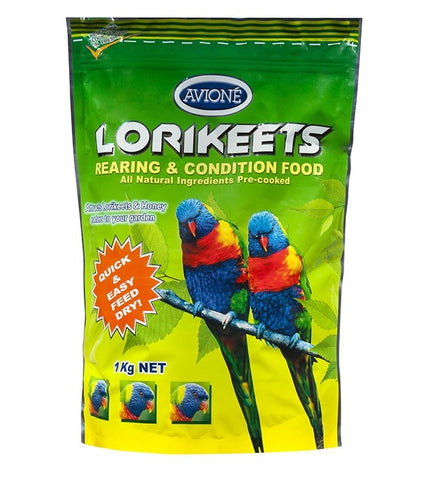 Avione Lorikeet Dry Food Rearing And Conditioning