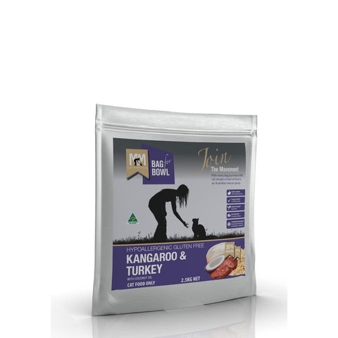 Meals For Meows Kangaroo and Turkey Gluten Free Cat Food