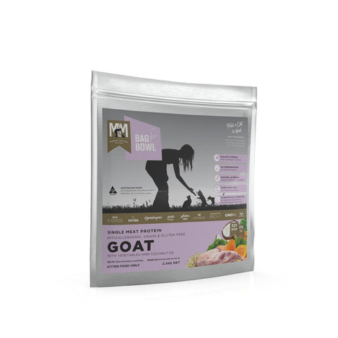 Meals For Meows Single Protein Goat Gluten and Grain Free Kitten Food