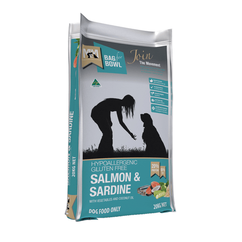 Meals For Mutts Salmon and Sardine Gluten Free Dog Food