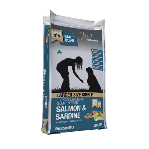 Meals For Mutts Large Breed Salmon and Sardine Gluten Free Dog Food