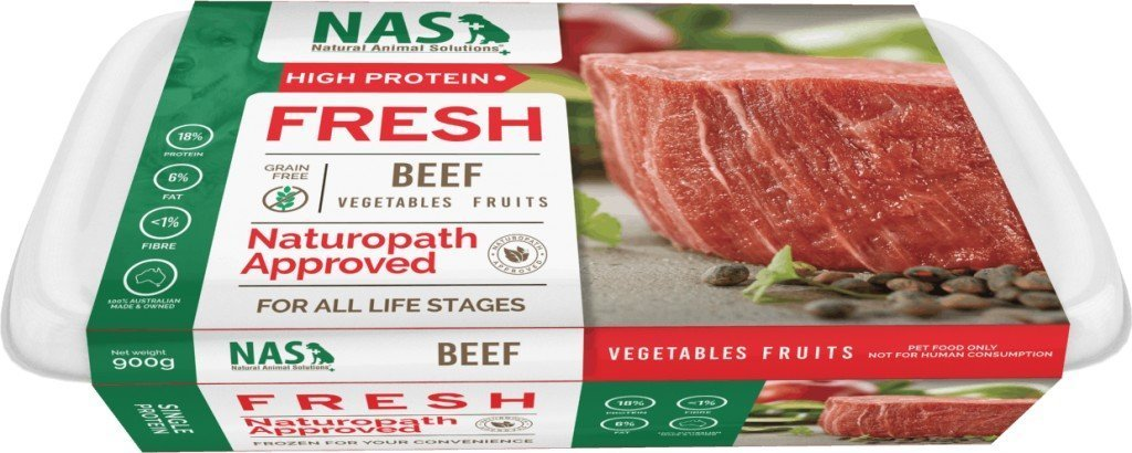 NAS Fresh RAW Beef for Dogs