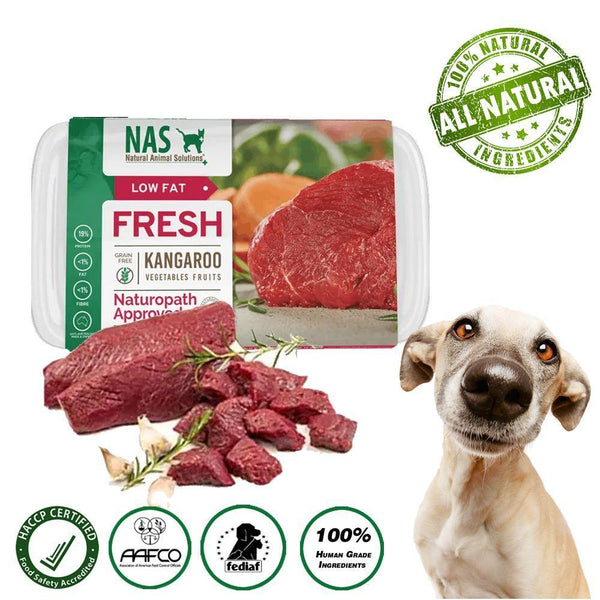 NAS Fresh RAW Kangaroo for Dogs