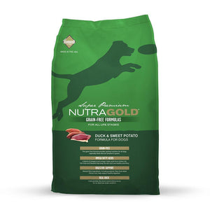 NutraGold Grain Free Duck And Sweet Potato Dry Dog Food