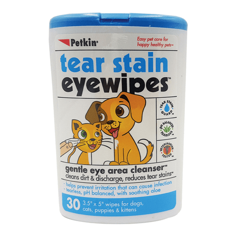 PetKin Tear Stain Wipes