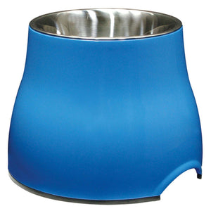 Dogit 2 in 1 Elevated Dog Bowls - Blue