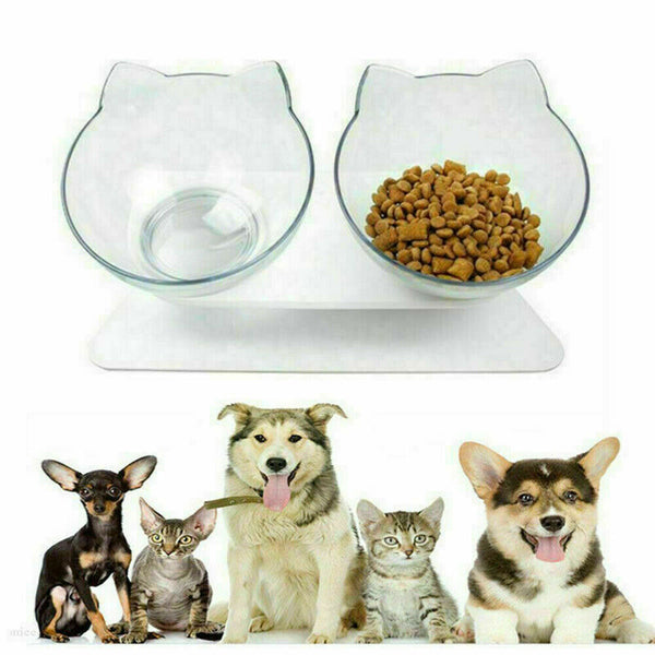 Elevated Double Pet Bowl