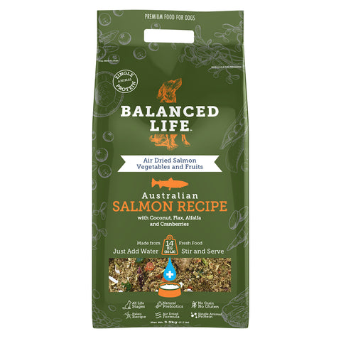 Balanced Life Adult Rehydratable Dog Food - Salmon
