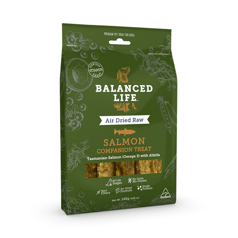 Balanced Life Companion Dog Treat - Salmon 140g