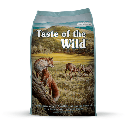 Taste of the Wild Appalachian Valley Small Breed Canine Formula with Venison & Garbanzo Beans Dry Dog Food