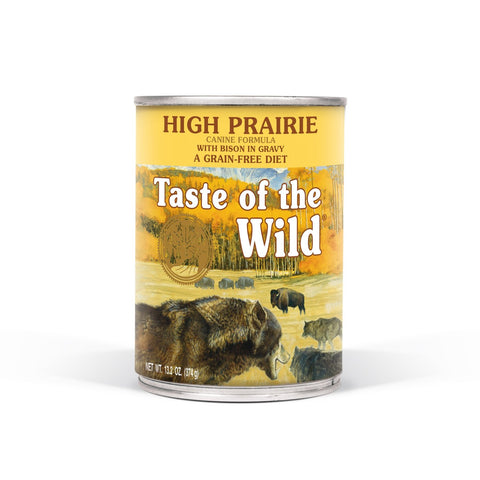 Taste of the Wild High Praire Canine Formula with Bison in Gravy Wet Dog Food