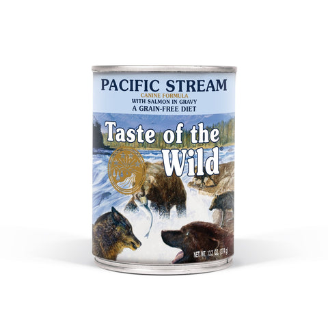 Taste of the Wild Pacific Stream Canine Formula with Salmon in Gravy Wet Dog Food