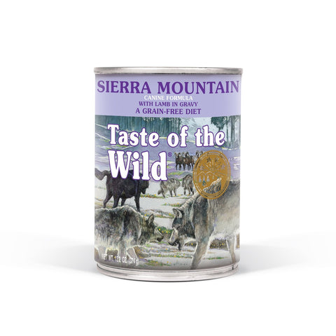 Taste of the Wild Sierra Mountain Canine Formula with Lamb in Gravy Wet Dog Food