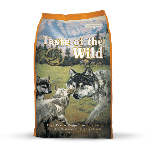 Taste of the Wild High Prairie Puppy Formula with Roasted Bison & Roasted Venison Dry Dog Food