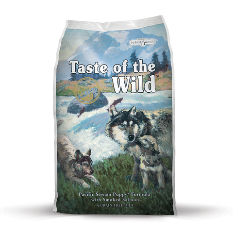Taste of the Wild Pacific Stream Puppy Formula with Smoked Salmon Dry Dog Food