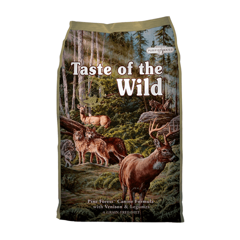 Taste of the Wild Pine Forest Canine Formula with Venison & Legumes Dry Dog Food