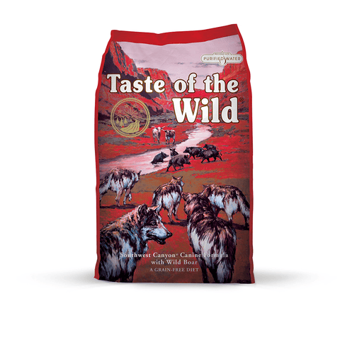 Taste of the Wild Southwest Canyon Canine Formula with Wild Boar Dry Dog Food