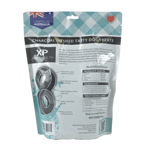 XP3020 Charcoal Infused Dog Treat - Chicken and Fish