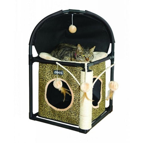 ZeeZ Cat Cube Fun House