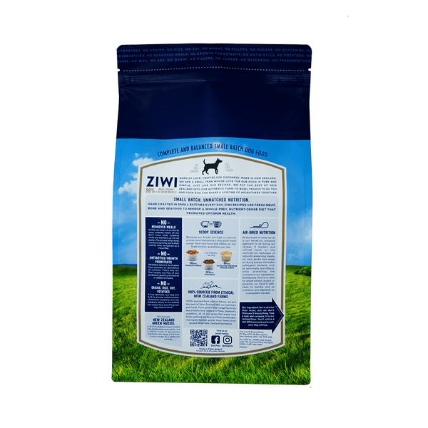 Ziwi Peak Air-Dried Dog Dry Food - Beef