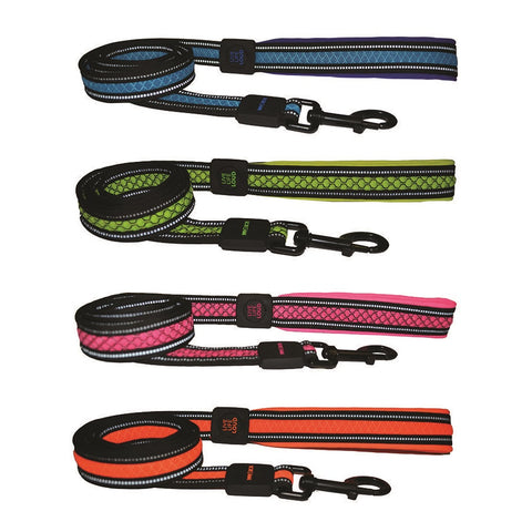 Scream Reflective Padded Leash Lead