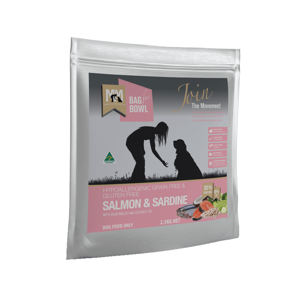 Meals For Mutts Salmon and Sardine Gluten Free Grain Free Dog Food