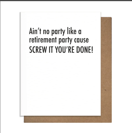 Retirement Party Greeting Card