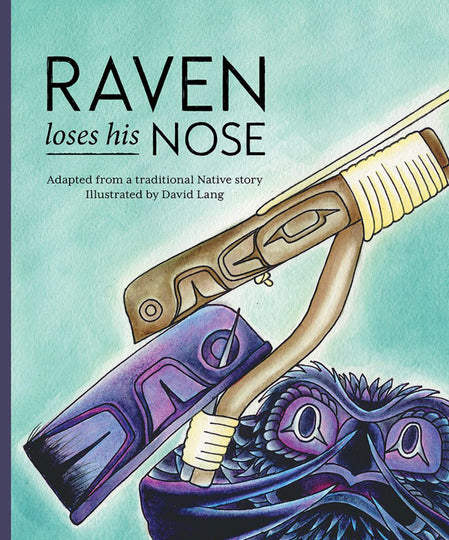 Raven Loses His Nose Book