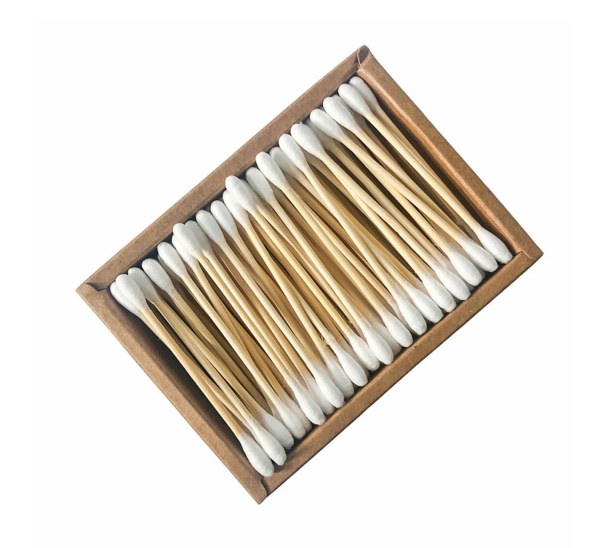Organic Biodegradable Bamboo Cotton Buds (200 Swabs)