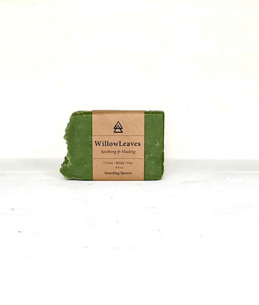 Willow Leaves Soap
