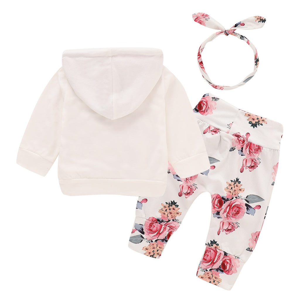 Floral Newborn Baby Girl Clothes