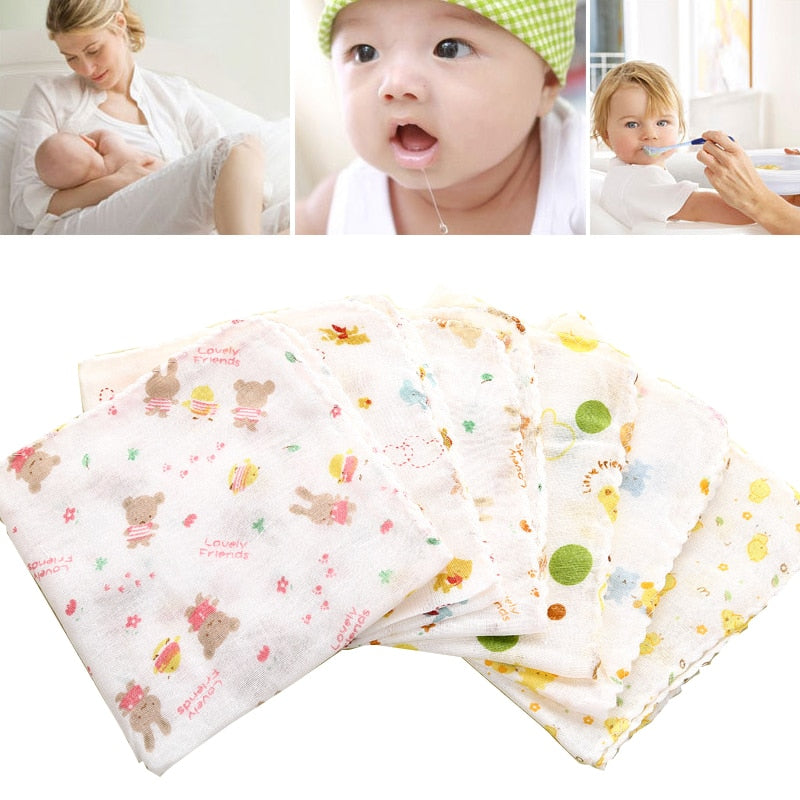 Cotton Newborn Infants Towels