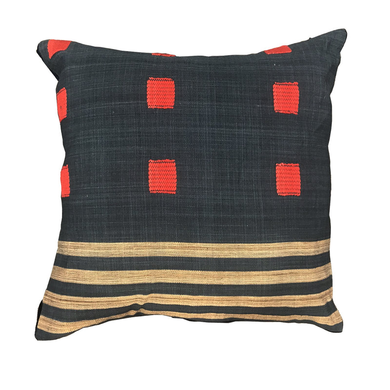 BURMA ZI RED CUSHION 46x46cm