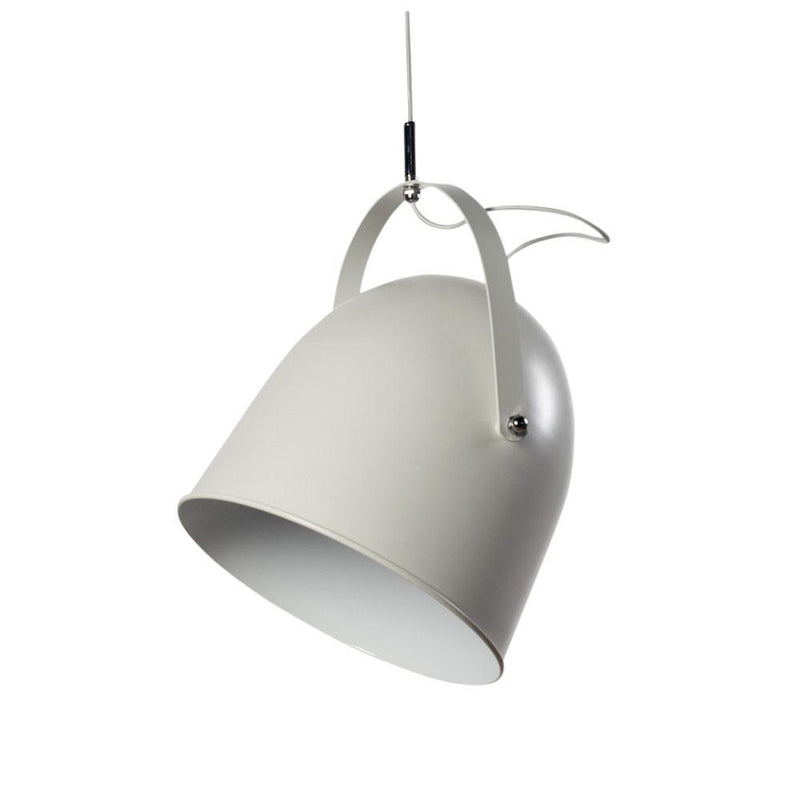 MOVABLE TUB METAL PENDANT WHITE D38H48cm