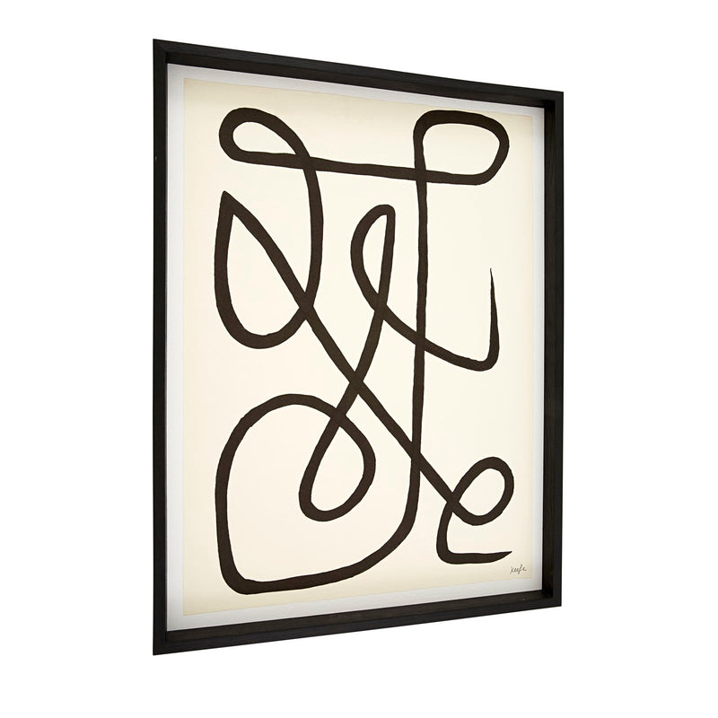 TRIIBE FRAMED WALL ART 80x60cm