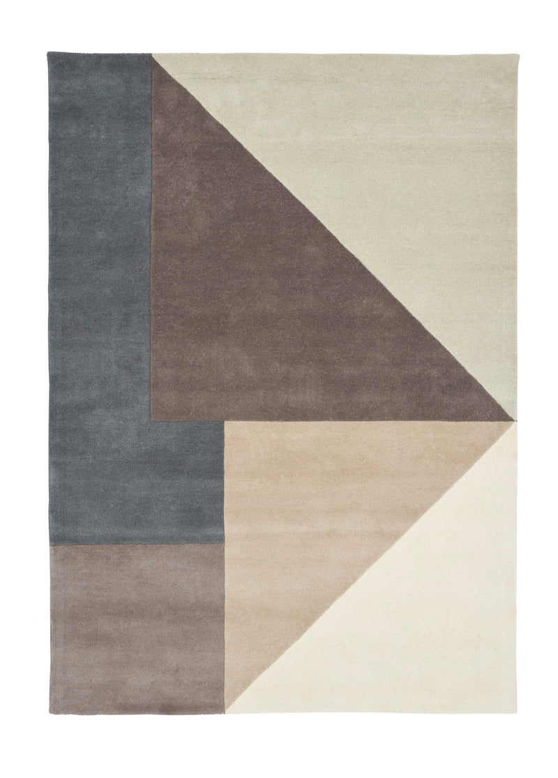 ARGUTO WOOL RUG in COOL TONES 350x250cm