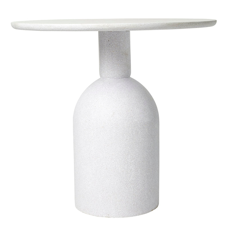 ##AVALON WHITE OUTDOOR CAFE TABLE