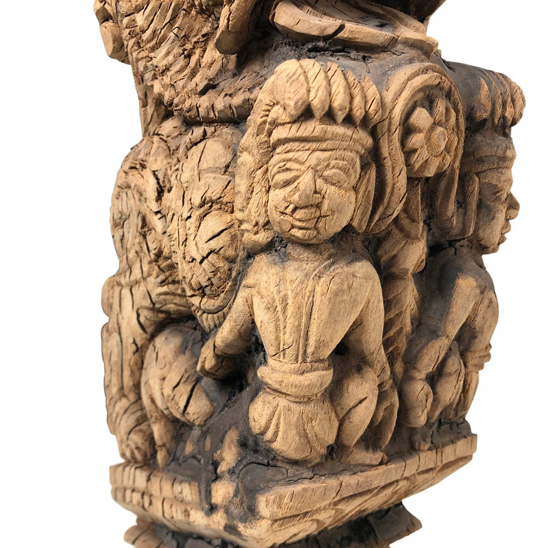 INDIAN VINTAGE CARVING | DRAGON