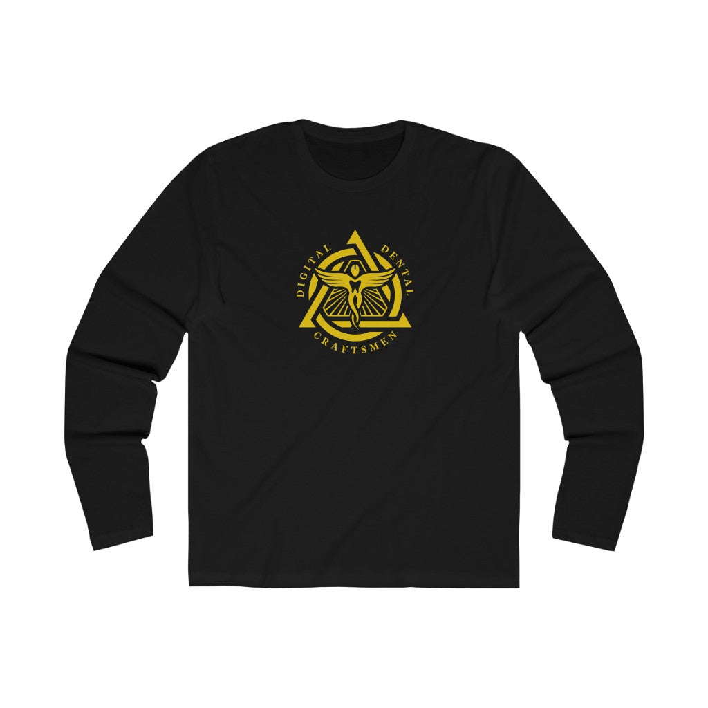 Gold Emblem Men's Long Sleeve Crew Tee