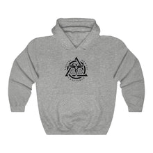Load image into Gallery viewer, DDC Black Emblem Unisex Heavy Blend™ Hooded Sweatshirt