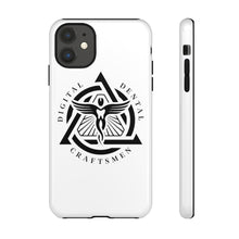 Load image into Gallery viewer, DDC Black Emblem Tough Phone Cases