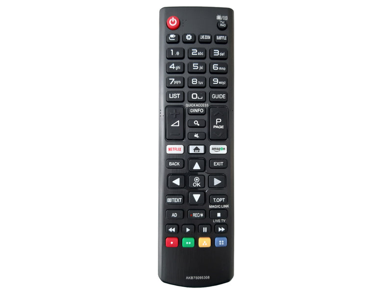 codalux remote control for LG AKB75095308 -