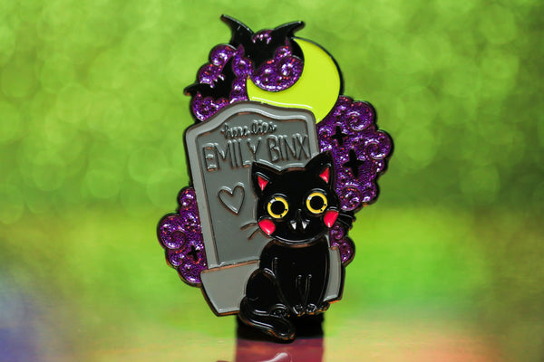 Binx Pin - Glitter Version