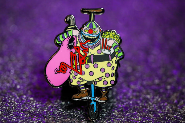 Cotton Kandy Clown pin